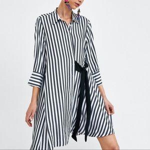 🥳PRICE DROP, Zara Button down stripe dress